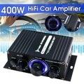 200W + 200W 12V 2CH автомобильный аудио усилитель HIFI аудио Мощность усилитель bluetooth Стерео усилители FM радио USB W/Дистанционное Управление