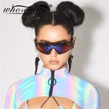 Oversized Futuristic Sunglasses Men Women Brand Design 2020 Outdoor Sport Goggle