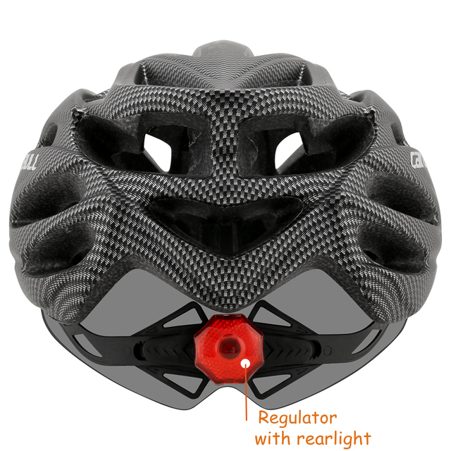 Cairbull ultraleve ciclismo capacete com removível viseira óculos de bicicleta rolos equitação capacetes da motocicleta capacete de proteção 6