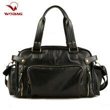 Messenger-Bags Handbag Crossbody-Bag Travel Waterproof Mens Retro Male PU England High-Quality