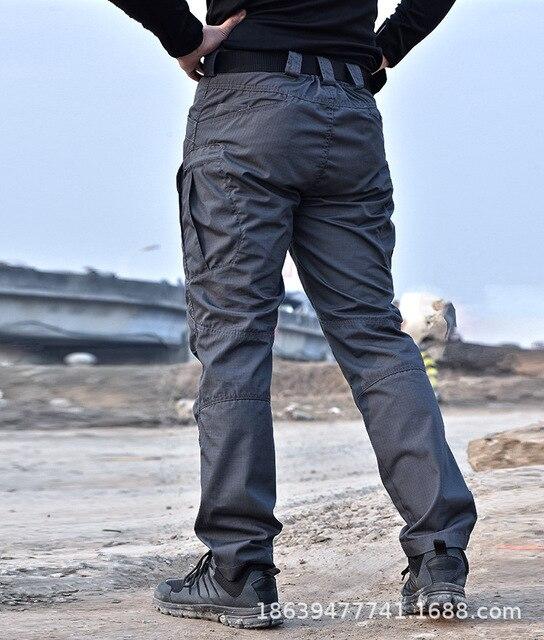 Men Tactical Clothing Cargo Pants Overalls Men's Pants Outdoor Quick Dry Waterproof Trousers for men Military Pants Workwear 5
