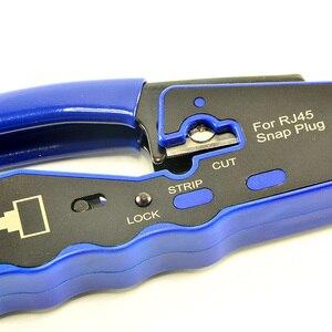 Image 5 - HY 670 8P8C RJ45 כבל מלחץ Ethernet מחורר מחבר Crimping כלים רב פונקצית רשת כלים כבל מלחציים