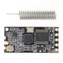HC 12 433Mhz SI4463 אלחוטי יציאה טורית מודול 1000m להחליף Bluetooth