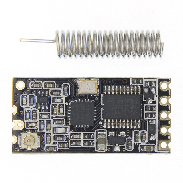 HC 12 433Mhz SI4463 Wireless Serial Port Module 1000m Replace Bluetooth
