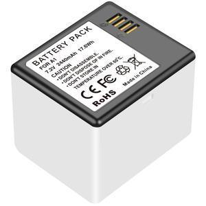 Image 5 - Batterie pour caméra Netgear Arlo Pro nouvelle batterie Rechargeable Li Ion + chargeur de batterie avec affichage de LED charge remplacer A 1
