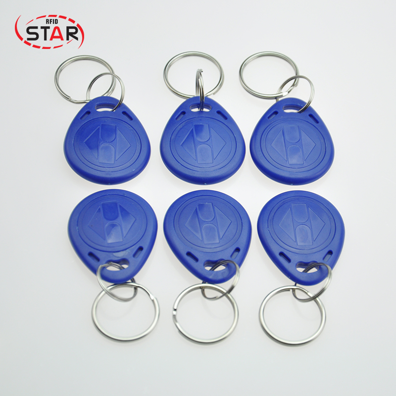 30pcs T5577 EM4305 Rewritable 125KHz RFID Key Fob For Access Control System