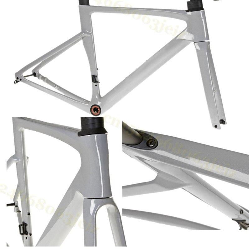 Pro Axle Road-Frame Carbon-Disk Carbon-Cyclocross-Frame Disc-Brake T1100 Di2 Fork-BB30 Compatible Bike Frameset Handlebars
