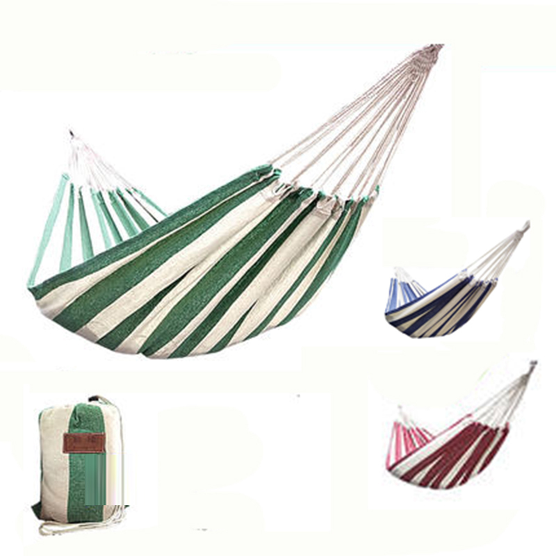 T Plain Color Canvas Hammock Camping Kids Furniture Outdoor Hanging Rocking Chair Hamock Nordic Swing Adults Hanging Chair(China)