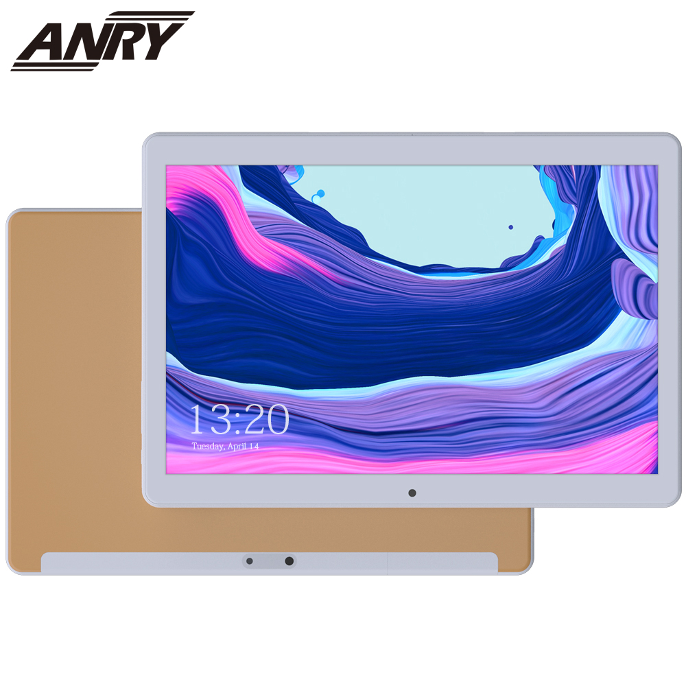 ANRY Kids Tablet PC 10 Inch 3G Phone Call Android 7.0 MTK6580 1GB RAM 16GB ROM Phablet 5000mAh Dual Sim Cameral