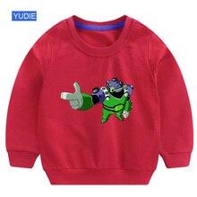 Ben10 Boys sweatshirt Autumn Children Baby Sweatshirts Cartoon Long Sleeves Sweater Kids Pullover Clothes Tops Sleeve