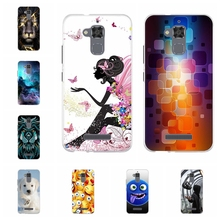 цена на For Asus Zenfone 3 Max ZC520TL Cover Soft TPU For Asus Zenfone 3 Max ZC520TL Case Flowers Pattern For Asus 3 Max ZC520TL Shell