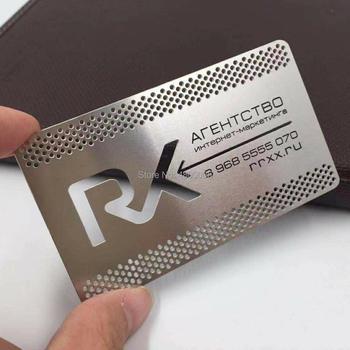 (100pcs/lot)cheap stainless steel metal membership cards 100pcs lot 14d471k
