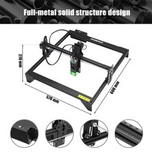 Laser Engraving Cutting Machine Durable High Engraving Speed With Laser Beam Safety Guard Laser engraving machine laser cutter