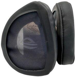 Image 5 - Misodiko substituição almofadas de ouvido almofada kit para asus rog delta gaming headset, fones de ouvido peças de reparo earpads (preto)