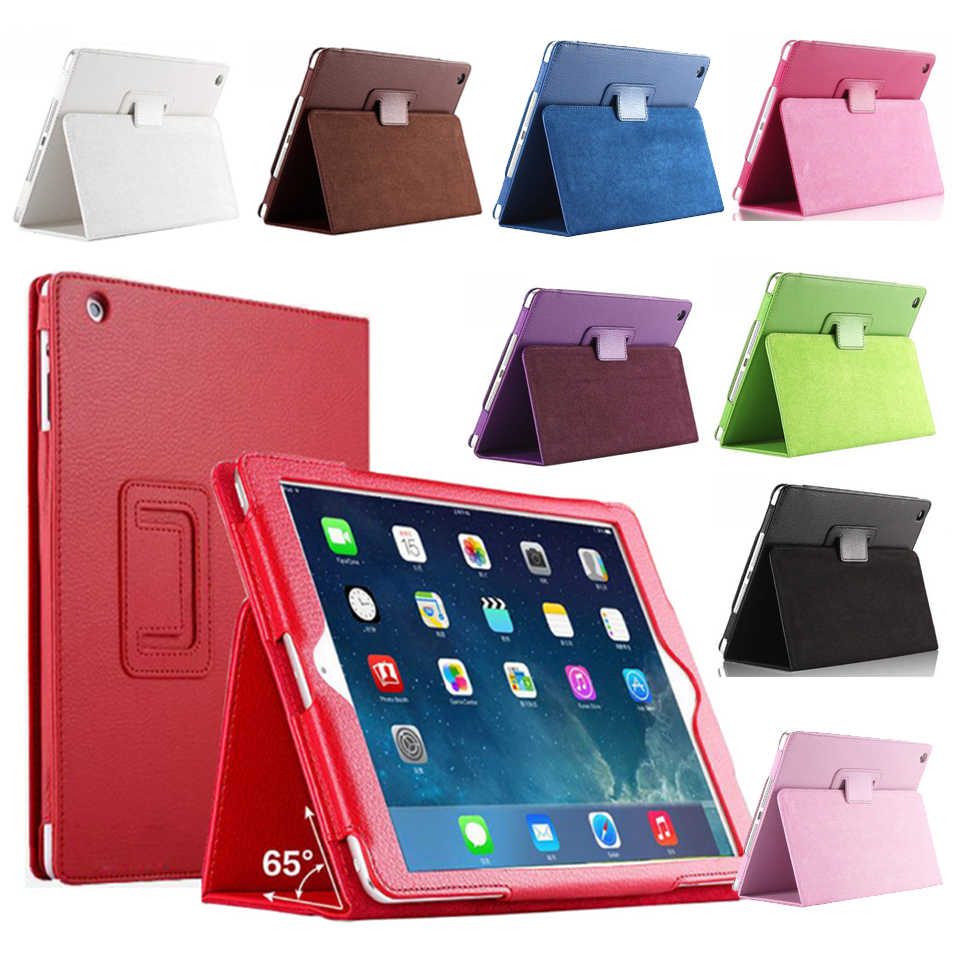 7.9 ''Stand Coque untuk iPad Mini 2 Mini 3 Case Magnetic Smart A1432 A1454 A1490 Auto-Sleep PU funda untuk iPad Mini 1 2 3 Cover