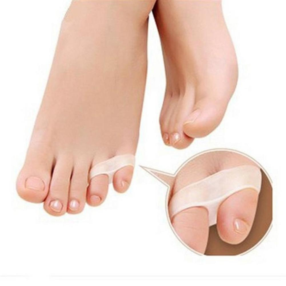 Soft Little Toe Pinkie Thumb Separator Hallux Valgus Bunion Guard Foot Care It Can Relieve Pain From Bent Toes, Overlapping Toes