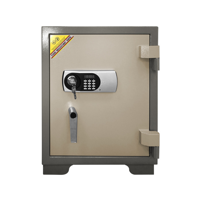 Cross Border Supply New Style Safe Box Small Household Office Simple Gate Password Fire Prevention Anti-Theft All-Steel Safety B