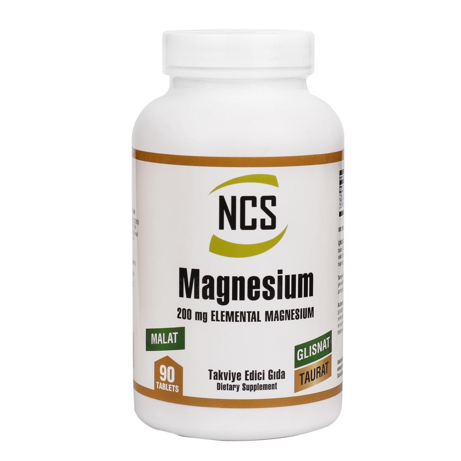 NCS Magnesium Malate Glisinat Taurat 90 Tablet
