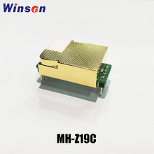 1pcs Winsen MH-Z19C NDIR CO2 Sensor High Sensitivity Low Power Consumption Carbon Dioxide Sensor UART PWM Output Long Lifespan