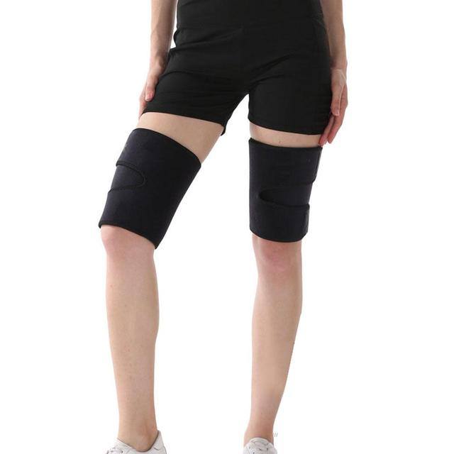 Thigh Sweat Wrap Slimming Sauna Belt Wraps Leg Arm Trimmers Thigh Calories off Shapewear Toned Muscles Band Weight Loss Belt 4