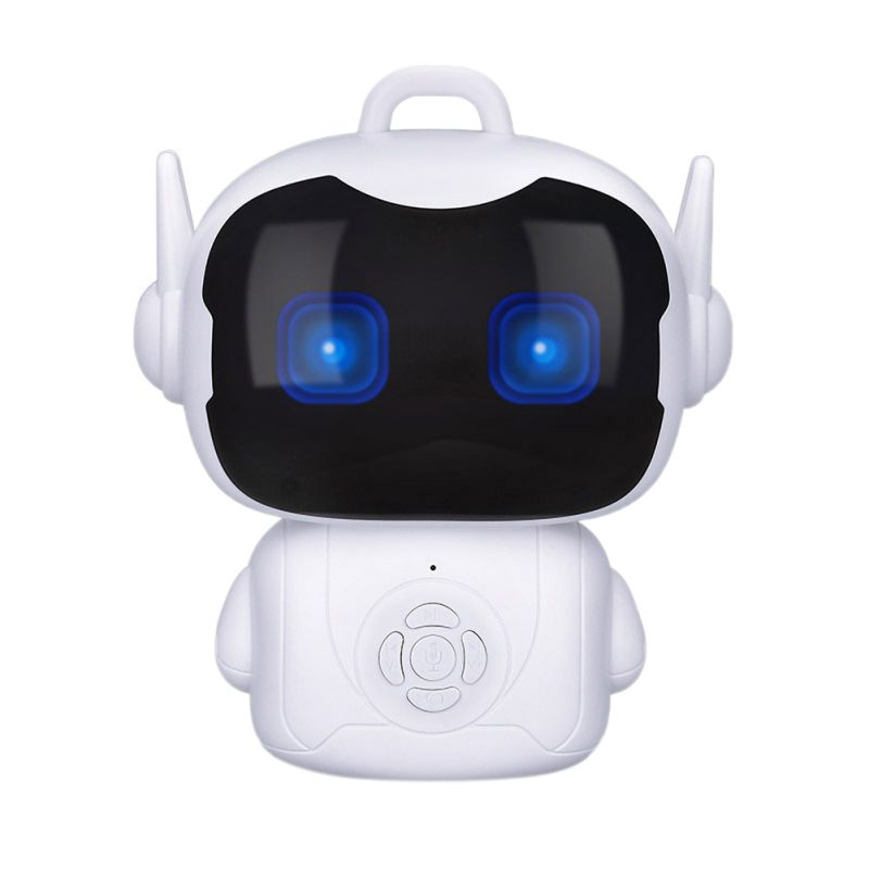 Ultimate SaleToy Robot Voice-Controlled Intelligent Dialogue Smart Touch-Sensor Teacher Gift Early-Education╠