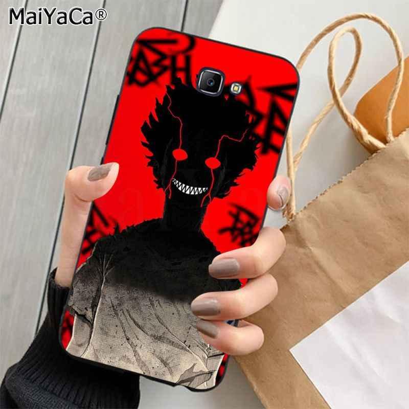 MaiYaCa koyu Anime Haise Sasaki Tokyo Ghoul erkek High-end telefon kapak için Samsung J4 artı J7PRO J5 J6 j7 başbakan J7 2016 2018 J8