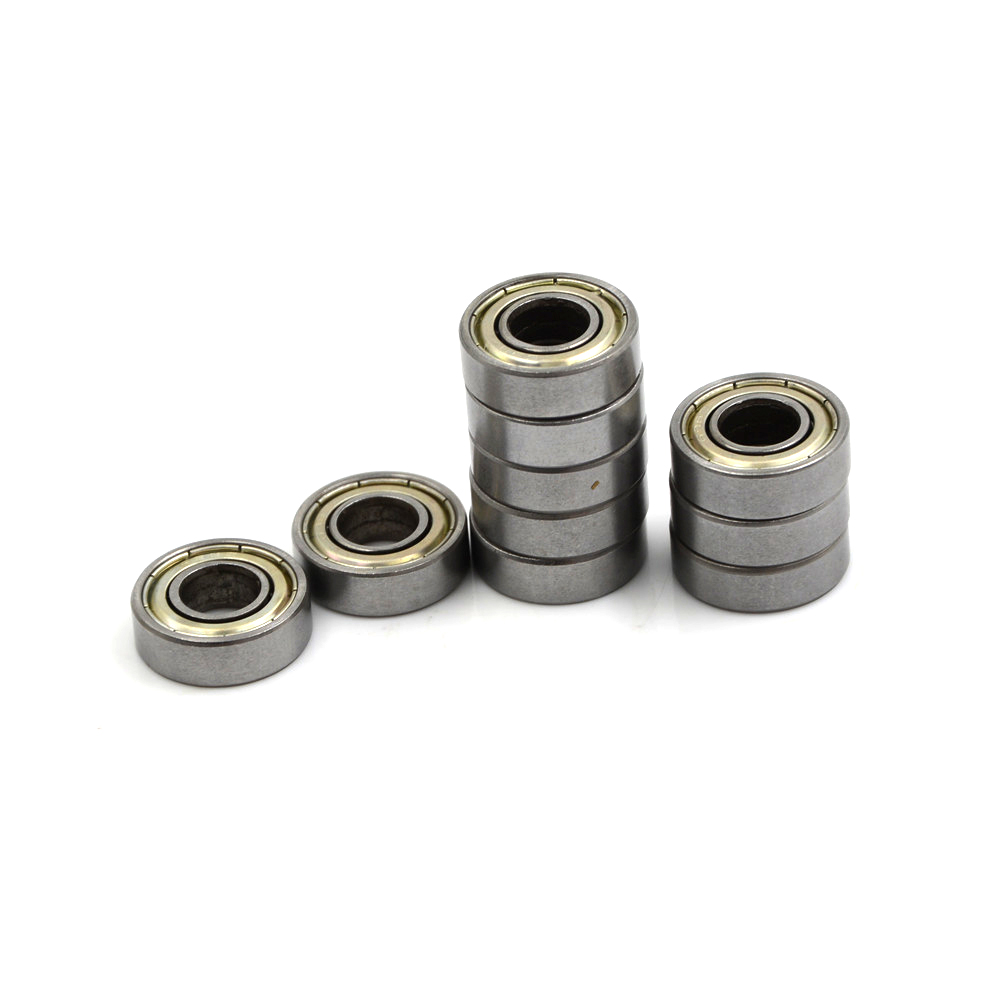 F698-2RS Carbon Steel Bearings 8x19x6 mm Miniature 698RS Ball Bearings High Quality 698 Z ZZ Bearings 10pcs/lot image