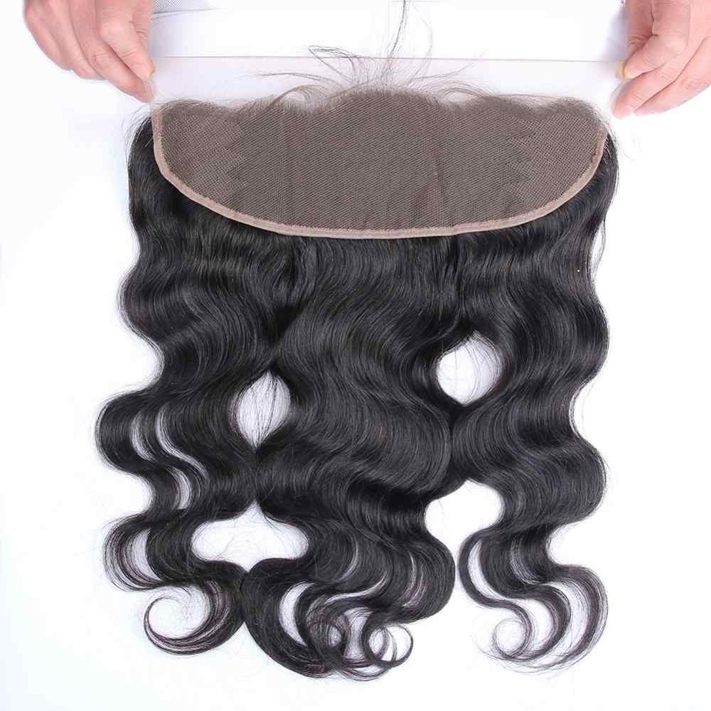Yavida малазийские объемные волнистые пучки с закрытием человеческие волосы пучки с фронтальным естественным цветом не Реми волосы для наращивания