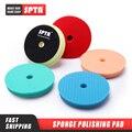 Полировальные колодки SPTA, губки 6 и 7 дюймов для полировки автомобиля, 5 и 6 дюймов, DA/RO, абразивная губка, диск для полировки
