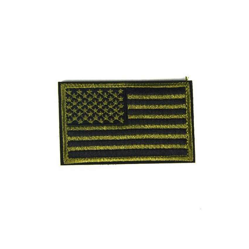 Usa haftowana pętla haczyk US parches flaga ameryki łatki taktyczna wojskowa odznaka Punisher na torby materiałowe plecak naklejki