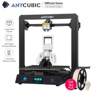 Image 2 - Anycubic 3D Máy In Mega X 300*300*305Mm Máy In Mega X In Lớn Kích Thước MeanwellPower Cung Cấp 3d Impressora