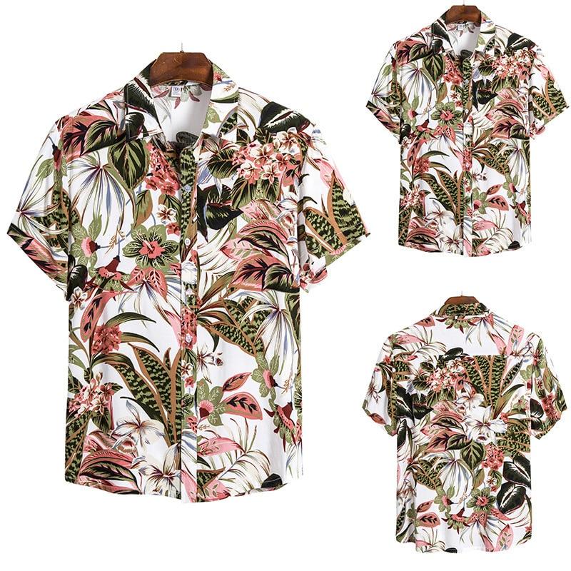 2020 Men's Wear Tip Lead Short Sleeve Shirt Shirt Cs147
