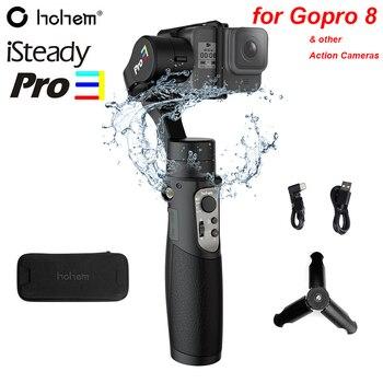 Hohem iSteady Pro 3 Splash Proof 3-Axis Handheld Gimble for DJI Osmo Action Gopro Hero 8/7/6/5/4/3 SJCAM YI Cam Action Cameras