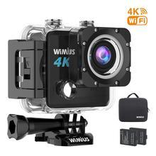 "Wimius 4K/24fps Action Camera Ultra HD 20MP Mini Cam 2.0"" LTPS 170D Wifi 1080P/60FPS 720P/120FPS Waterproof Sport Video Camera"