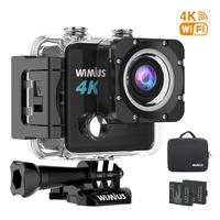 Wimius L2 HD 4K Camera for helmet Ultra 12MP 1080p Action Camera 40M Waterproof WIFI 170D Bicycle Sports Action Video Cameras