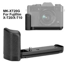 2019 New Meike XT-20G Aluminum alloy Hand Grip Quick Release L Bracket For Fujifilm X-T30 X-T20 X-T10 Durable L Bracket тарелки patriot pa 445 t10 x treme