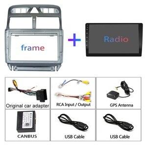 Image 5 - 4G + 64G 안 드 로이드 9.0 자동차 DVD 플레이어 푸조 307 307CC 307SW 2002 2013 자동차 라디오 GPS 네비게이션 CarPlay RDS IPS 플레이어 2DIN