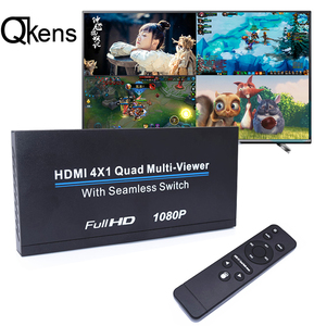 HDMI 4x1 мультивьюер HDMI коммутатор 4 в 1 монитор Quad multi-просмотра 1080P HDMI видео конвертер 4 экранов бесшовный переключатель