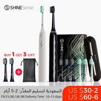 ShineSense STB800 cepillo de dientes sónico cepillo de dientes eléctrico para Xiaomi Mijia Ultra sónico rápido recargable adulto impermeable