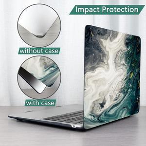 Image 4 - 4 w 1 zestaw marmuru skrzynka dla Apple MacBook Pro Air 13 15 16 cal dotykowy bar 2020 A2251 A2159 A1932 A1706 A1990 twarda okładka + bezpłatny prezent