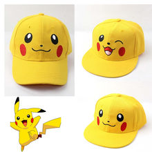 Anime Tasche Monster Pokemon Pikachu Cosplay Hut Kawaii Demo Baumwolle Baseball Cap Sport Sonnencreme Reise Hüte Caps Einstellbar(China)