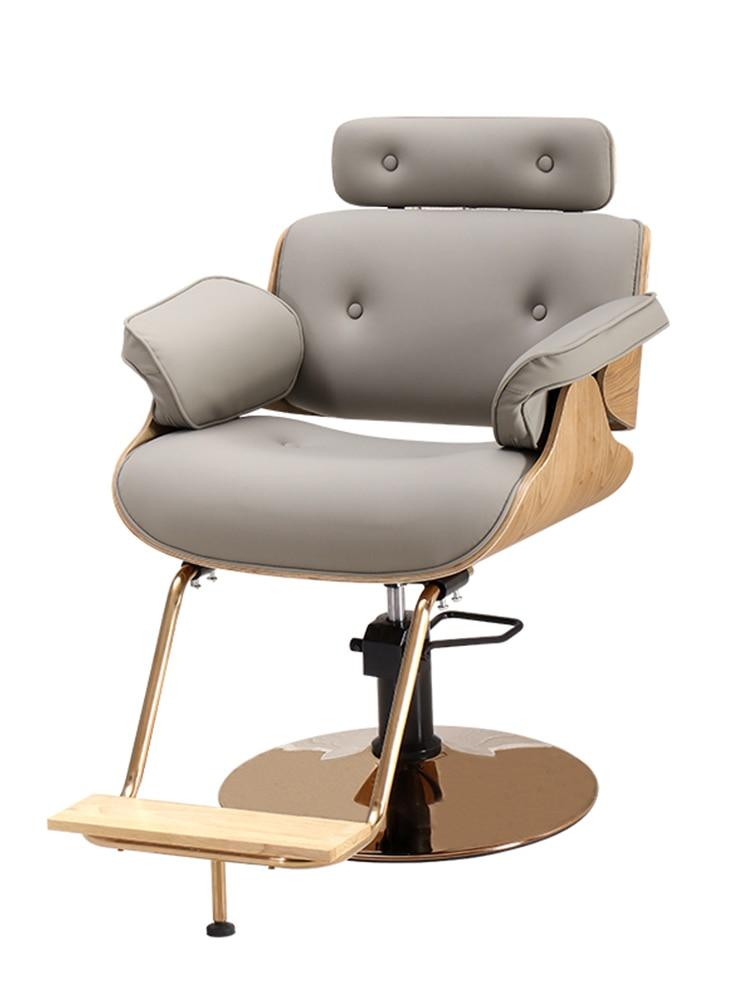 Barbershop Chair Salon Chair Hair Salon Dedicated Haircut Chair Lifting Rotary Barbershop Chair