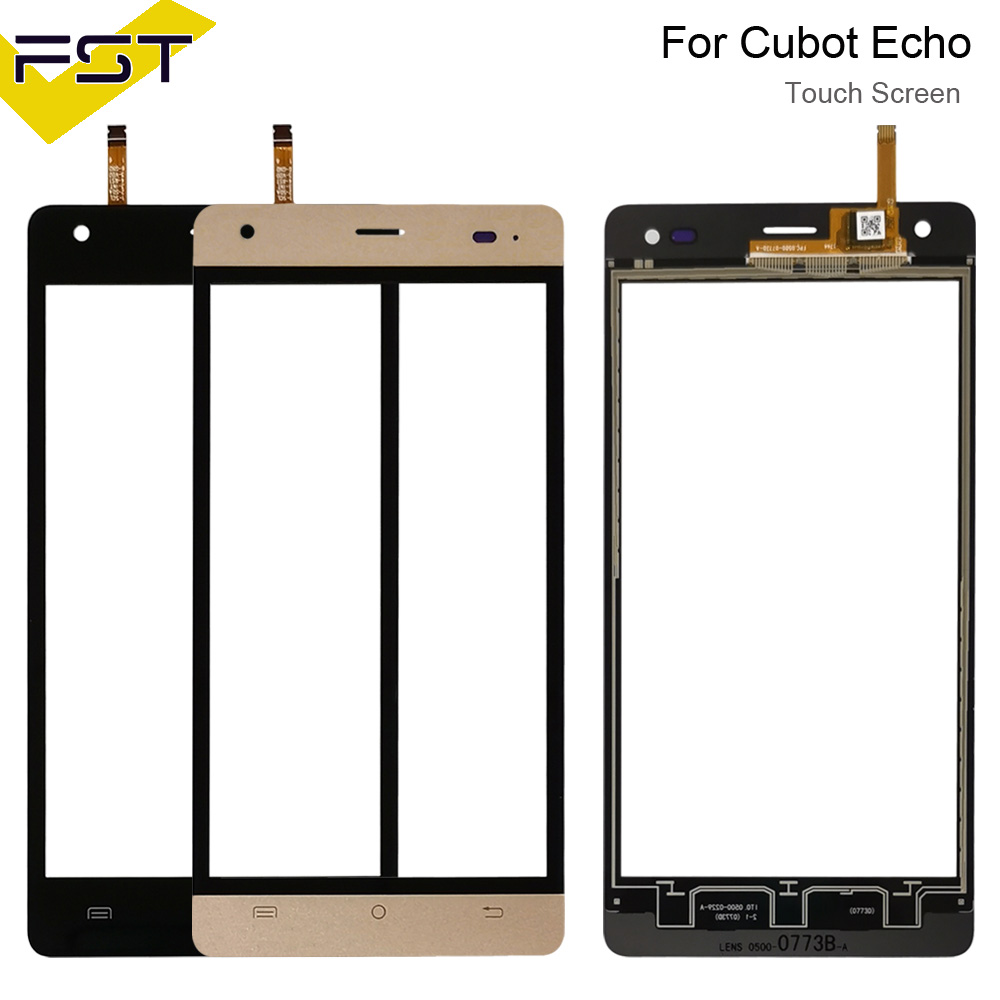 5.0''For Cubot Echo Touch Panel Touch Screen Digitizer Replacement For Cubot Echo Glass Sensor With Tools+Adhesive