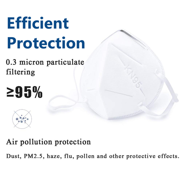 10/20 pcs/bag KN95  Dustproof Face Mask PM2.5 Anti-fog Strong Protective Mouth Mask Respirator Reusable 3