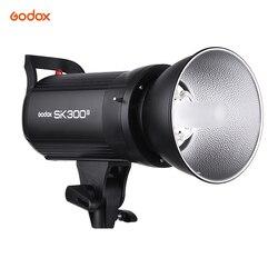 Godox SK300II Professional 300Ws Studio Flash Strobe Light Built-in Godox 2.4G Wireless X System GN58 5600K w/150W Modeling Lamp