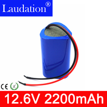 3S1P 12.6V Battery li-ion 2200mAh 18650 Charger 12V  Rechargeable Batteries For Portable Charger/LED/ Hot Sale Laudation