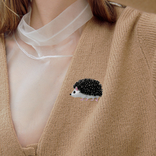 Brooches Jewelry Badges Drip-Oil-Pins Animal Cute Enamel for Woman Party-Evening Daily-Wear