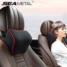 רכב מושב משענת ראש רכב צוואר כריות מלא סיבי כרית כרית זיכרון קצף ראש שאר אוטומטי עבור נסיעות תמיכת רכב מושב אבזרים