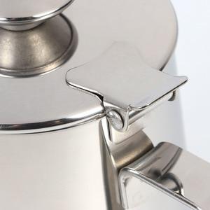 Image 4 - Tasse dart de Latte dacier inoxydable de 600ml avec lensemble de café de tasse de mousse de lait de couvercle