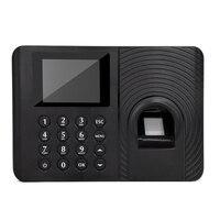 Mool a10 sistema de comparecimento do tempo da impressão digital relógio gravador reconhecimento empregado dispositivo de gravação máquina eletrônica (plug eua)|Atendimento elétrico|Segurança e Proteção -